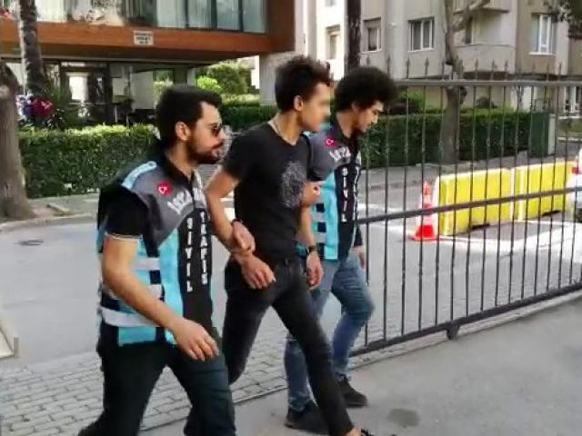 Bağdat Caddesinde terör estiren sürücü yakalandı