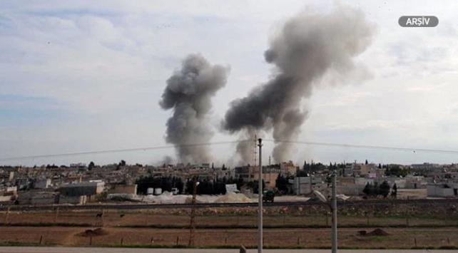 Münbiçte YPG/PKK binasında patlama