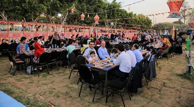 TİKA Mısırda engellilere ve ailelerine iftar verdi