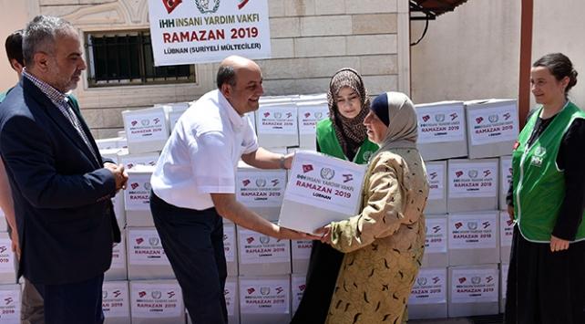 İHHdan Lübnana Ramazan yardımı