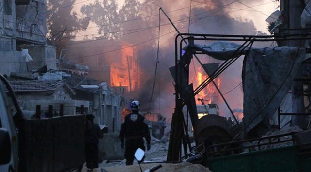 İdlibde iftar vaktinde hava saldırısı: 6 ölü
