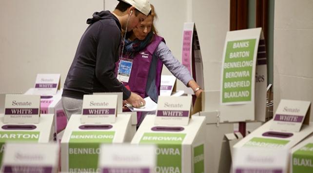 Avustralyada 16 milyon seçmen sandık başında