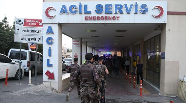 Şanlıurfada terör operasyonu: 1 polis şehit