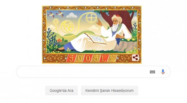 Googledan Ömer Hayyama özel doodle