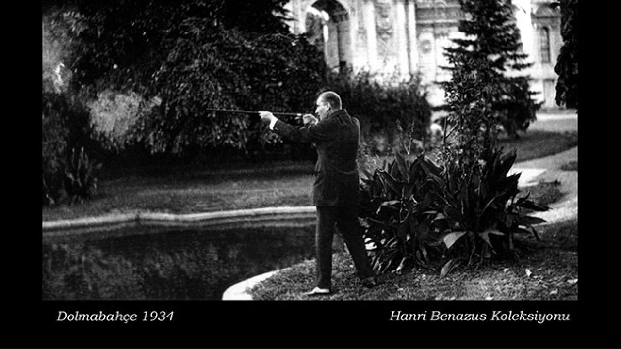 Genelkurmay arşivlerinden Mustafa Kemal Atatürk fotoğrafları