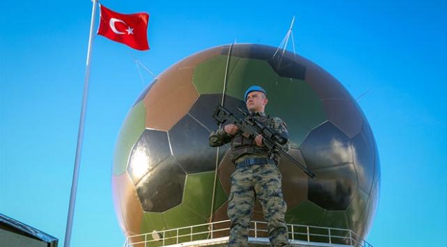 Türkiyenin çatısında 7 gün 24 saat nöbet