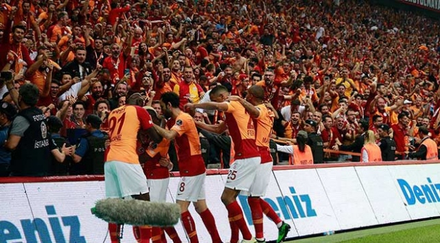 Galatasaray, lig bitimine 1 hafta kala şampiyon oldu