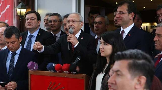 CHP Genel Başkanı Kılıçdaroğlu: 23 Haziranda tatile gitmek yok