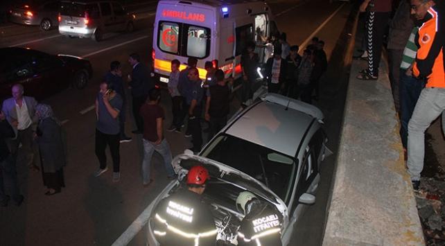 Kocaelide zincirleme trafik kazası: 5 yaralı