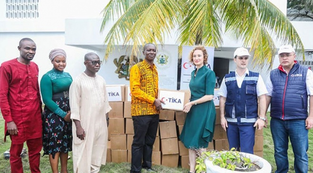 TİKAdan Ganalı Müslümanlara ramazan yardımı