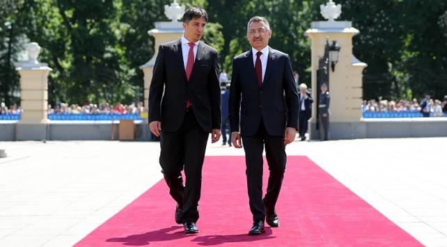 Cumhurbaşkanı Yardımcısı Oktay, Zelenskiyin yemin törenine katıldı