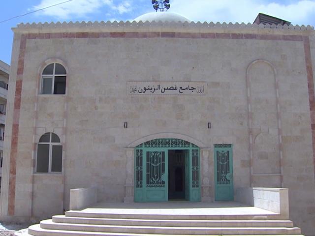 Afrin'de teröristlerin zarar verdiği camilerden 90'ı ibadete açıldı