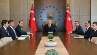 Cumhurbaşkanı Erdoğan, Türk Konseyi Genel Sekreteri Amreyev'i ağırladı