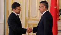 Cumhurbaşkanı Yardımcısı Oktay Ukrayna Devlet Başkanı Zelenskiy ile görüştü
