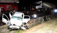 Tokat'ta trafik kazası: 2 polis memuru hayatını kaybetti