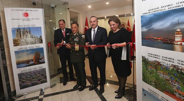 Bakan Çavuşoğlu: Guatemala, Latin Amerika'daki en önemli stratejik ortaklarımızdan biri