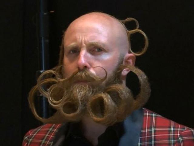 Bıyık ve sakal hayranları dünya şampiyonluğu için yarışıyor