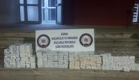 Adana'da 5 bin 490 kaçak sigara ele geçirildi