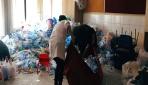 Öğrenciler doğayı 1,5 ton atıktan kurtardı