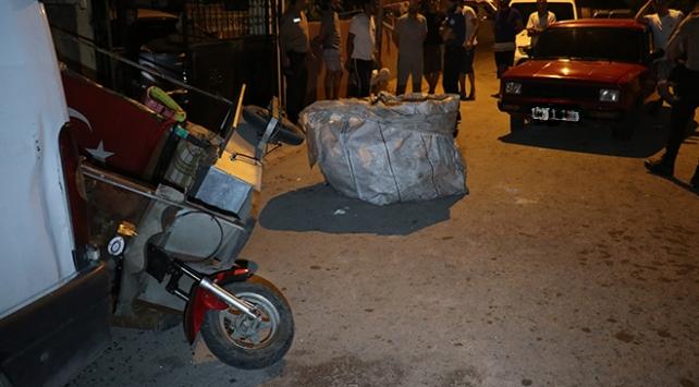 Hırsızlık şüphelisi kaza yapınca yakalandı