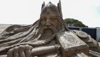Uluslararası Antalya Kum Heykel Festivali başladı