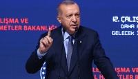 Cumhurbaşkanı Erdoğan: Ekonomik saldırılara rağmen hedeflerimize doğru yürüyoruz