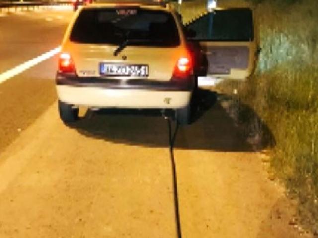 Gaz dolum tabancasını otomobilin deposunda unutan sürücü