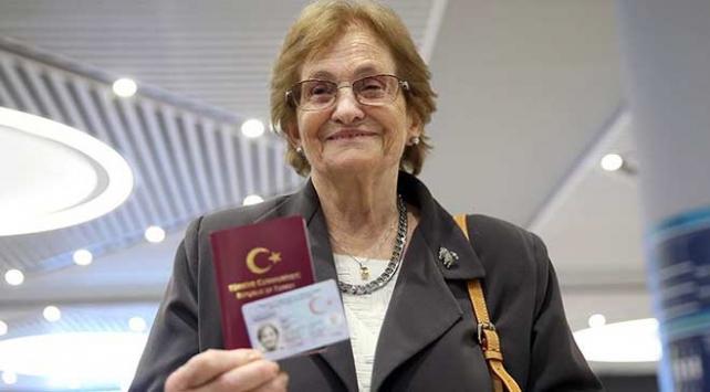 69 yıldır vatan hasreti çeken Raşel Kazes Türkiyede