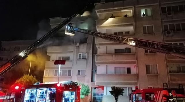 Tuzla'da yangın: 4 yaralı
