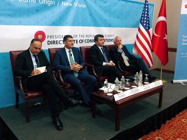 Türk heyeti ABD'de Türkiye'nin beklentilerini anlattı