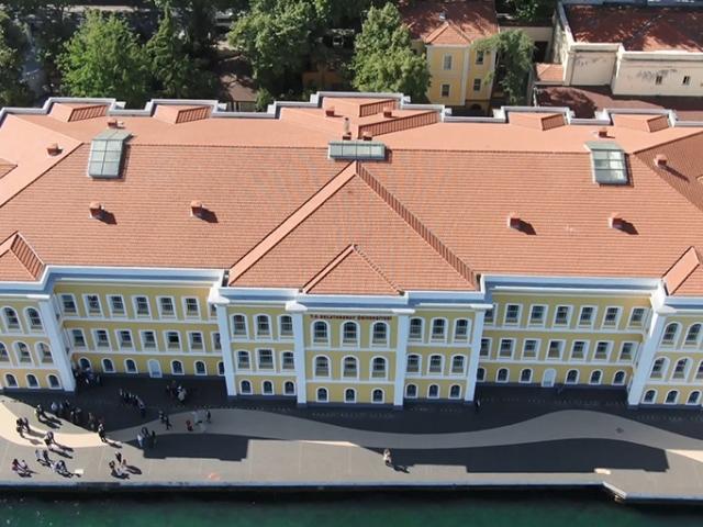 Galatasaray Üniversitesi'nin restorasyonu tamamlandı