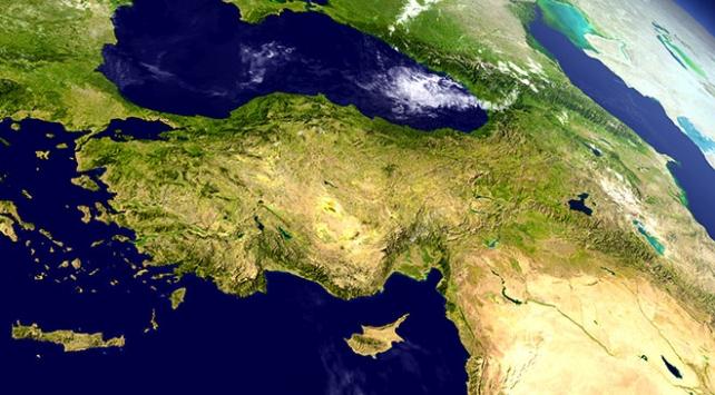 Türkiyenin 92 yıllık iklim haritası