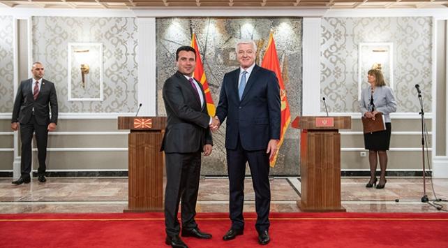 """""""Karadağ-Kuzey Makedonya dostluğu bölgeye örnek olmalı"""""""