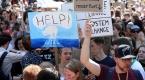 Brükselde iklim değişikliği protestosu