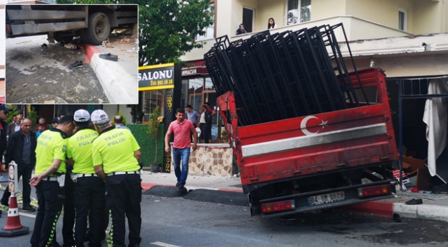 Sultanbeylide kamyonet dehşeti