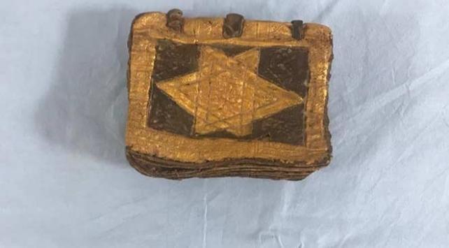 İzmirde bin 500 yıllık İbranice kitap ele geçirildi