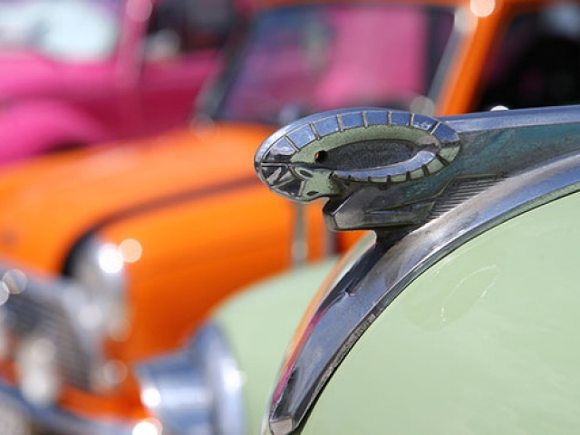 Klasik araba tutkunları Ankarada bir araya geldi