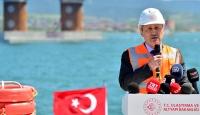 Bakan Turhan: Çanakkale Boğazı'ndan seyahat süresi 4 dakikaya kadar inecek