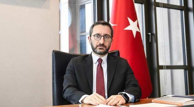 Cumhurbaşkanlığı İletişim Başkanı Fahrettin Altun Necip Fazılı andı