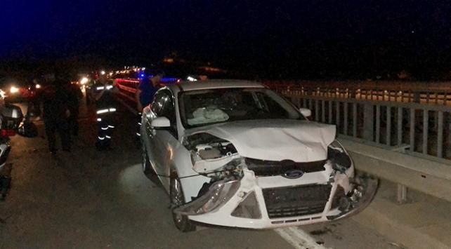 Adıyamanda trafik kazası: 11 yaralı