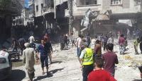 Esed rejimi pazara saldırdı: 4 ölü, 40'dan fazla yaralı