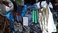 Gümüşhane'de terör örgütü PKK'ya ait silah ve erzak deposu imha edildi