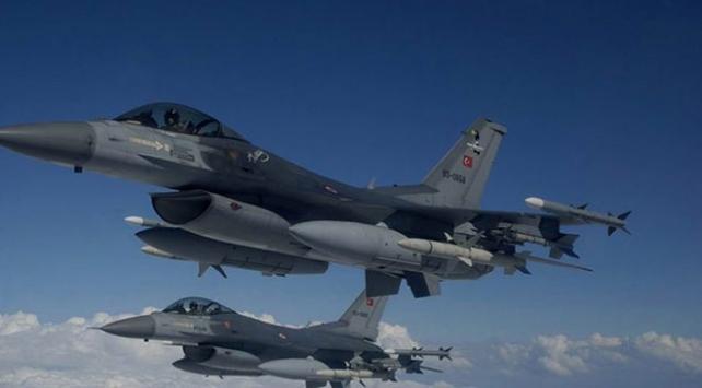 Irak'ın kuzeyindeki terör örgütüne ait hedefler vuruldu