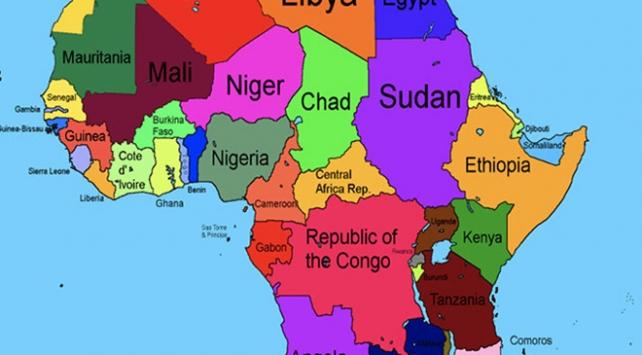 Etiyopya Somaliyi haritadan sildi