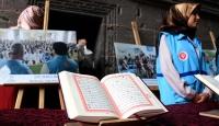 27 dilde basılan Kur'an-ı Kerimler sergilendi