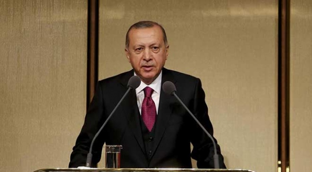 Cumhurbaşkanı Erdoğandan İstanbulun fethi mesajı