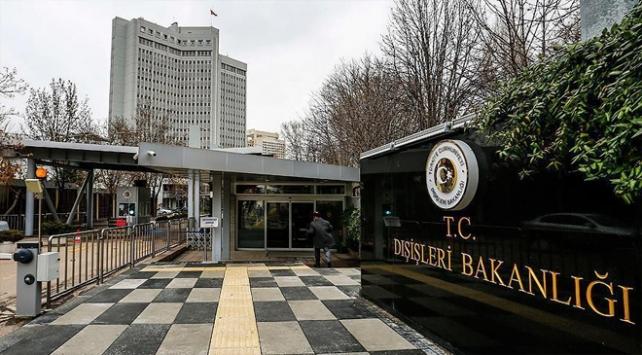 Dışişlerinden ABnin Türkiye raporuna tepki