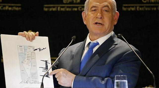 Kushnerden Netanyahuya Trump imzalı Golan haritası