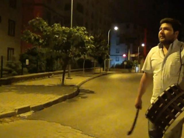 """Ramazan davulcularından """"Dünya Tütünsüz Günü""""ne özel mani"""