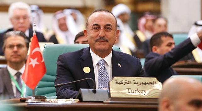 Dışişleri Bakanı Çavuşoğlu: Filistinde adaletin çıkarlara değişilmesini kabul etmeyeceğiz